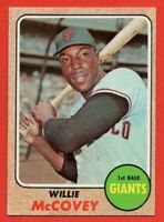 1968 Topps #290 Willie McCovey EX+ HOF San Francisco Giants FREE SHIPPING