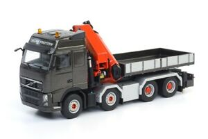 WSI 04-1099 Volvo FH3 8x4 Tractor + Palfinger 92002 Crane 1/50 MIB