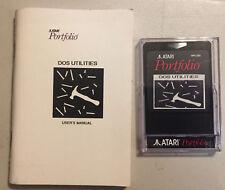 PORTFOLIO XTERM + File Manager + DOS Utilities ROM Card W/Manual NEW Atari
