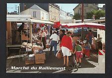 NANTES (44) MARCHAND de CHAUSSURES au Marché du RALLIEMENT animé en 1996