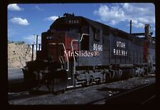 Original Slide Utah Ry.  Southern Pacific Paint SD45 9146 In 1986 At Martin UT