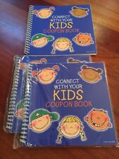 CONNECT WITH YOUR KIDS! Lori Gardner COUPON BOOK Lunch Notes Backpack School FUN