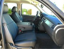 Clazzio PVC Leatherette Seat Covers for 14-18 Chevy Silverado 2500 3500 Crew Cab