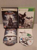Batman: Arkham City + Arkham Asylum Xbox 360 Games Bundle,