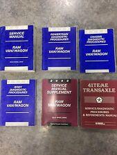 2002 DODGE RAM VAN Service Repair Shop Manuals