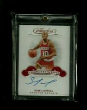 Sam Cassell Flawless LEGENDARY SCRIPTS RUBY Auto #10/15! 1/1? JERSEY NUMBER! SSP