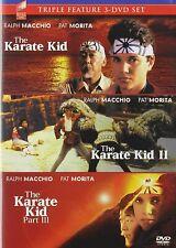 The Karate Kid / the karate kid 2 3 -DVD Triple Feature NEW