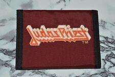 NEW - Old Stock - Retro Vintage - JUDAS PRIEST Nylon Bi-Fold Wallet
