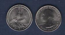 Etats Unis Quarter Dollar 2012 D Hawaii Volcanoes Culture Parc Nationaux