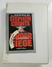 Under Siege Cassette Audiobook by Stephen Coonts Read By Robert Lansing