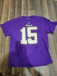 NFL Minnesota Vikings Men's T-Shirt Greg Jennings #15 - Large