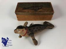 JOUET ANCIEN TOLE LEHMANN EPL 432 PERFORMING SEA LION PHOQUE 1ST TYPE C.1900