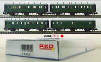 Piko 94340 Oldtimer-Wagenset 4-tlg. der SBB, Spur N mit OVP NEU / K184