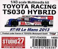STUDIO27 1/43 TOYOTA RACING TS030 HYBRID Multimedia kit