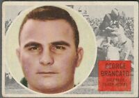 1960 TOPPS CFL GEORGE BRANCATO OTTAWA ROUGH RIDERS #60 (LSU TIGERS)  VG