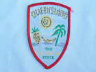 VINTAGE TOWNSVILLE QUEENSLAND EMBROIDERED PATCH SOUVENIR SEW WOVEN CLOTH BADGE