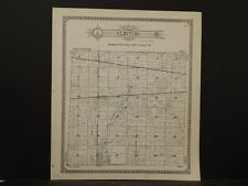 Indiana, La Porte County Map, 1921, Township of Clinton, New Durham Z6#31