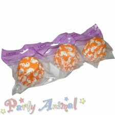 Culpitt 162x Calidad Naranja Fantasma Halloween Cupcake/Muffin/PAN casos Decoración Pasteles