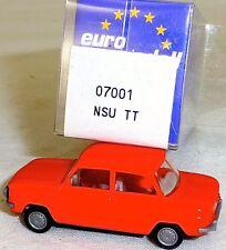 NSU TT Auto leuchtorange IMU/euro modello 07001 h0 1/87 OVP #ll 1 å