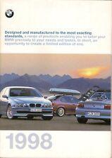 BMW Accessories 1998 UK Market Sales Brochure 3 5 7 8 Series Z3
