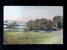 1912 Mansion House Fishers Island LI NY post card
