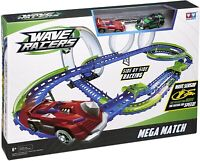Wave Racers Auldey Mega Match Children's Racing Track Play Set With Cars BNIB