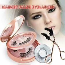 2 Pairs Magnetic Eyelashes Kit & Glue-free Magnetic Eyelash Clip Set C7P5