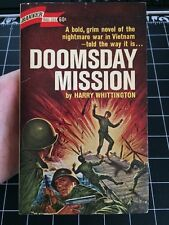 Doomsday Mission By Harry Whittington Vietnam War Collectible Paperback Rare