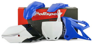Polisport Plastic Replica Body Kit Yamaha Blue YZ85 2015-2019