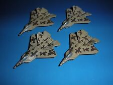 Micro Machines Military Lot YF-22 Raptor Stealth Fighter Aircraft Plane Jet F-22