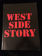 VINTAGE THEATER PROGRAM-WEST SIDE STORY