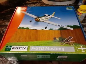 ParkZone  UMx P-51D Mustang BNF rc airplane very good condition