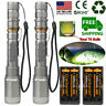 Tactical Police 990000Lumens T6 LED 5 Modes 18650 Flashlight Aluminum Zoom Torch