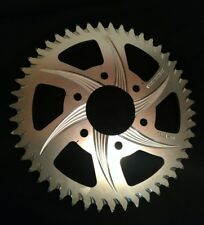 Vortex Silver Aluminum Rear Sprocket - 48T - 520 - 827A-48