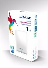 "ADATA HV620 1TB 2.5"" Portable External Hard Drive 1 TB WHITE HDD for Laptop PS4"