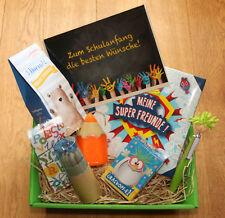 Einschulung Geschenke Schulanfang Schule Schulbeginn Schulkind Geschenkidee Korb