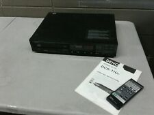 Denon DCD-1100 Stereo CD Player Tested Fully Functional W/ Remote & Manual