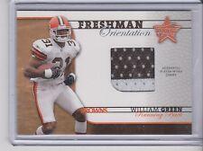 2002 Leaf Rookies and Stars William Green Freshman Orientation Jersey 518/660