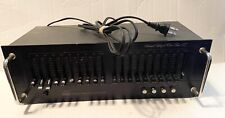 Adc Stereo Frequency Equalizer ~ Sound Shaper One Ten Ic ~ Model Ss-110-Ic