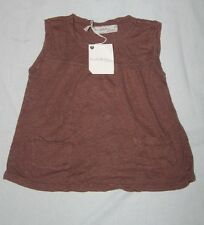 ORIGINAL JOE ET JOEZEPHINE by JOE BLACK Top en lin Marron Chlocolat    5 / 6 ans