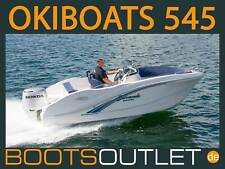 Bootsoutlet Motorboot Sportboot Okiboats 545 Barracuda Angelboot Boot Mercury