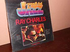 I GRANDI DEL JAZZ.RAY CHARLES-LP-DISCO 33 GIRI-MUSICA