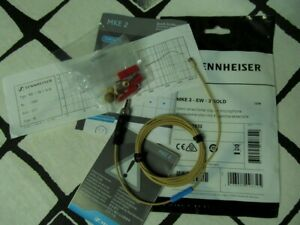 Sennheiser MKE2 EW-3 Gold New Unopend Lavalier  Microphone with Accessories