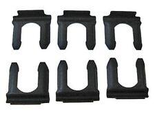 Chevy GM drum disc rubber brake line flex hose retainer clips - 6 pcs uclip