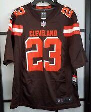 Men s Nike Cleveland Browns Joe Haden Nike Brown Game Jersey Size Large 2bc0c53a1