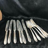 Set of 12 Oneida SHERATON Knife and Fork Set