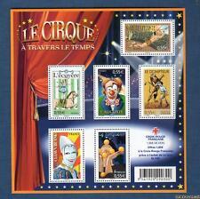 France Bloc N°121 Personnage Célèbres Le Cirque 2008 Neuf Luxe