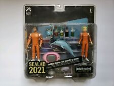 Palisades Toys Sealab 2021 Debbie Dupree & Dr. Quentin Quinn Figures Adult Swim