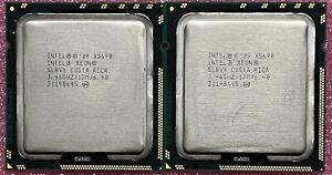 Matched Pair(2) Intel Xeon X5690 3.46GHZ SLBVX 6Core 12MB LGA1366 CPU Processors