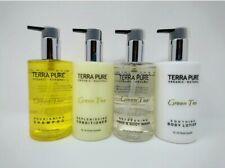Terra Pura Tè Verde da Viaggio Set 10oz Bagno Shampoo Balsamo Bagnoschiuma Lozione